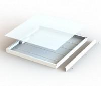 Светодиодный светильник для потолков армстронг, аналог 4*18, встраиваемый светильник