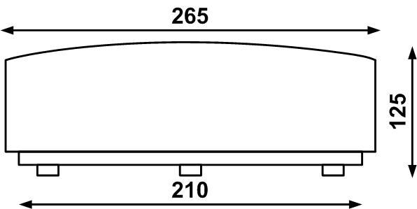 Светодиодный светильник Леда 6ТС