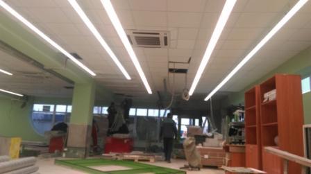 Освещение для магазинов, торговое освещение, светодиодный светильник Джаз Люмика