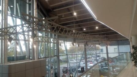 Проект освещения автосалона качественными российскими светодиодными светильниками соответствующий нормативом освещения автосалона, Люмика-светодиодные светильники