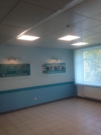 Поликлиники освещение в больницах, светодиодные светильники для чистых медицинских помещений, СПИП лучебно-профилактические учреждения, пример освещения больницы