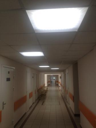 Свет в больнице,освещение в больнице СНИП,правильнон освещение для больниц