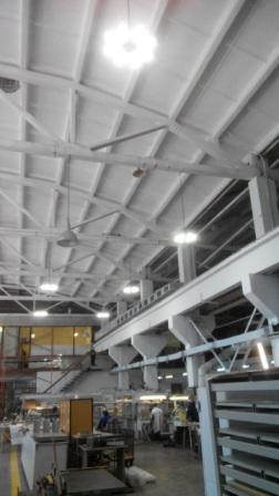 Люмика промышленное светодиодное освещение заводов, цехов, складов