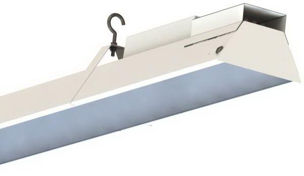 Линейный светодиодный светильник для освещения торговых помещений Джаз