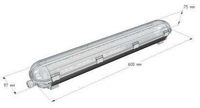 Светодиодный светильник для производств и ЖКХ